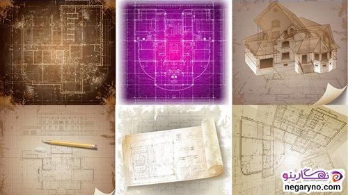 پروژه ایلستریتور نقشه های معماری