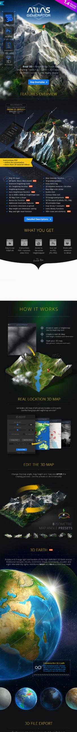 3D Map Generator