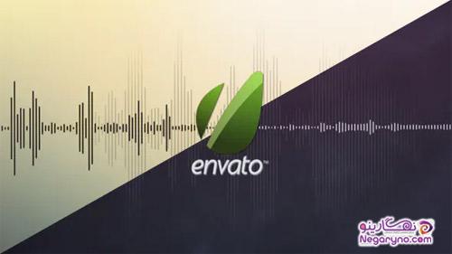 پروژه افتر افکت نمایش لوگو اکولایزر موزیک