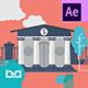 پروژه افتر افکت عناصر موشن گرافیک پولی و بانکی