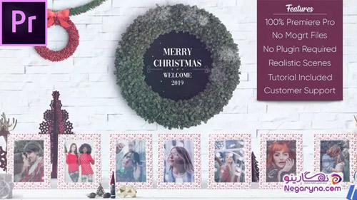 پروژه افتر افکت گالری عکس کریسمس
