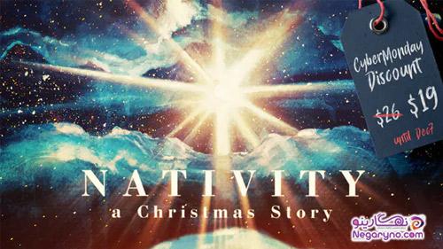 پروژه افتر افکت داستان کریسمس