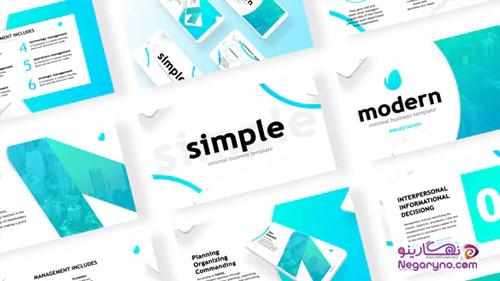 پروژه افتر افکت نمایش نمونه کار طراحی وب و اپلیکیشن