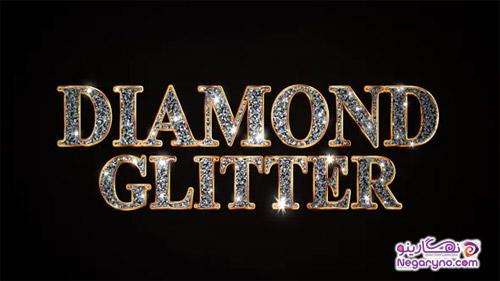 پروژه افتر افکت عناوین الماسی