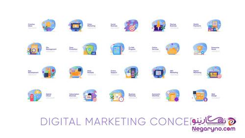 موشن گرافیک دیجیتال مارکتینگ