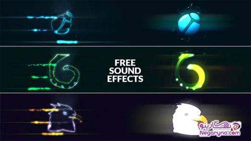 پروژه افتر افکت نمایش لوگو انرژی