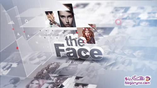 پروژه افتر افکت چهره های سال