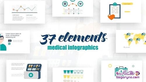 پروژه افتر افکت اینفوگرافیک پزشکی
