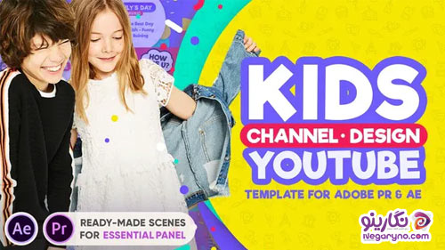 Videohive Kids YouTube Channel Design