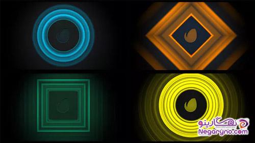 پروژه افتر افکت نمایش لوگو واکنش به موسیقی