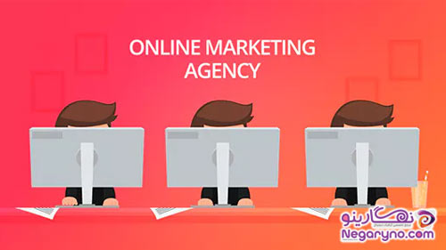 موشن گرافیک بازاریابی آنلاین