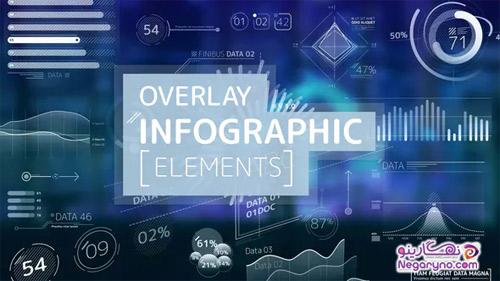 پروژه افتر افکت عناصر اینفوگرافیک
