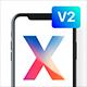 پروژه افتر افکت تبلیغ اپلیکیشن در آیفون X