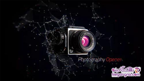 پروژه افتر افکت معرفی و تبلیغ محصولات عکاسی