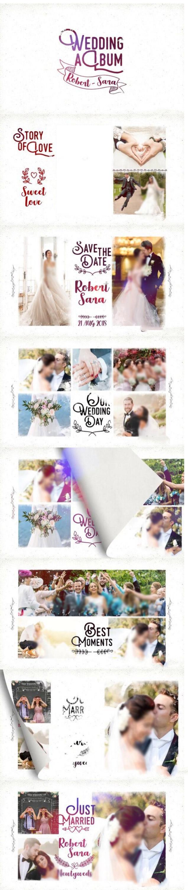پروژه افتر افکت اسلایدشو عروسی
