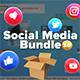 پروژه افتر افکت شبکه های اجتماعی