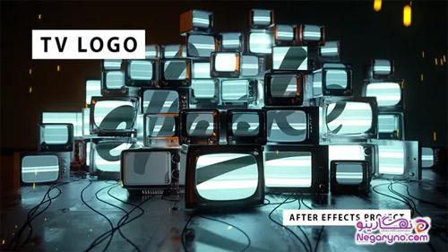 پروژه افتر افکت نمایش لوگو تلویزیون