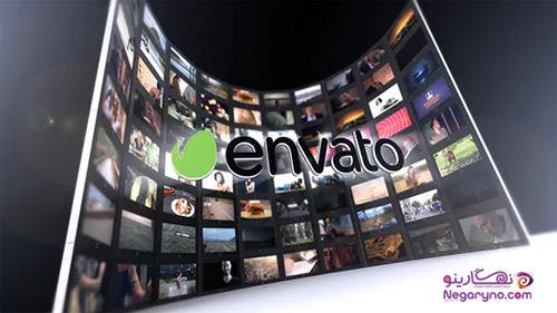 پروژه افتر افکت دیوارهای ویدیویی