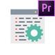 پروژه پریمیر آیکونهای متحرک طراحی وب و گرافیک