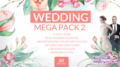 پروژه افتر افکت مگا پک عروسی