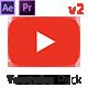 پروژه افتر افکت پک عناصر یوتیوب