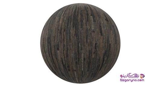 تکسچر چوب پارکت تیره براق ۳