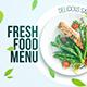 پروژه افتر افکت معرفی و تبلیغ غذا