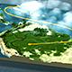 پروژه افتر افکت مسیرها روی نقشه