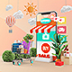 پروژه افتر افکت فروشگاه آنلاین موبایلی