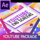 پروژه افتر افکت معرفی کانال یوتیوب