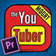 پروژه پریمیر عناصر یوتیوب کمیک