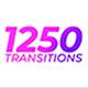۱۲۵۰ ترنزیشن موشن ویدئو