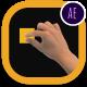 پروژه افتر افکت اشاره و حرکات دست